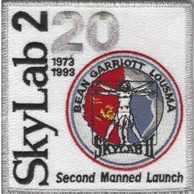 Skylab2 Mission Patch 20th Anniv