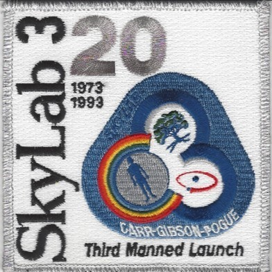 SkyLab 3 20th Anniv patch