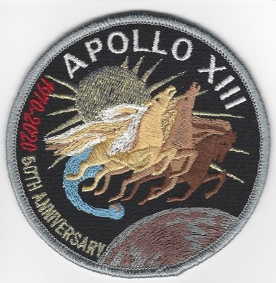Apollo 13 50th Commemorative Patch