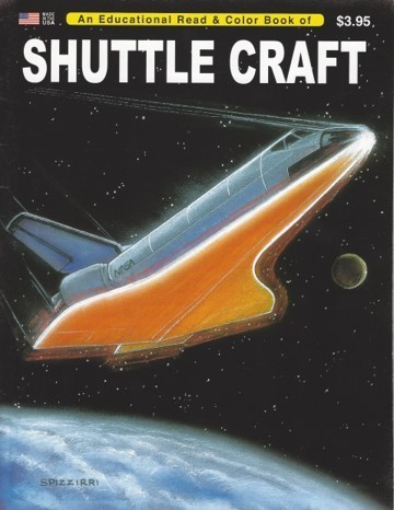 Shuttle Craft Educational Coloring book