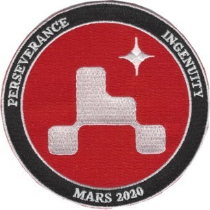Mars 2020 Mission Patch