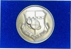 45th Space Wing Challenge Coin