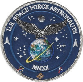 US Space Force Astronauts Commemorative Patch