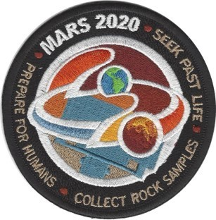 Mars 2020 Seek-Collect-Prepare Mission Patch