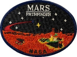 Mars Pathfinder NASA Mission Patch