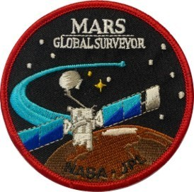 Mars Global Surveyor Mission Patch