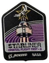 Boeing/NASA Starliner OFT-2 Mission Patch