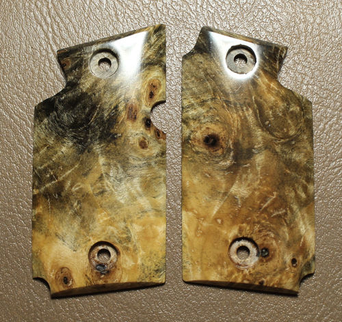 Stabilized Buckeye burl. SOLD