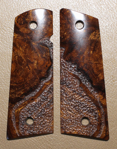 "Desert Ironwood burl, Slim, ""organic"" stipple  SOLD"