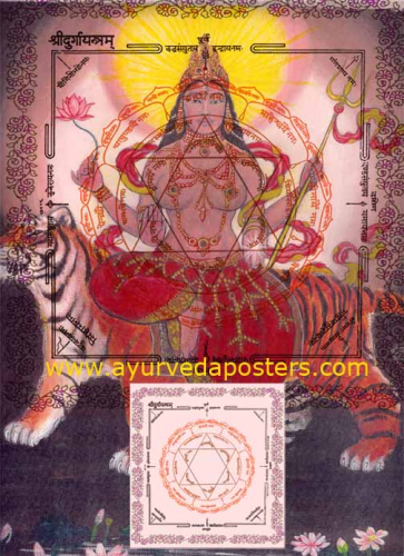Durga in Yantra