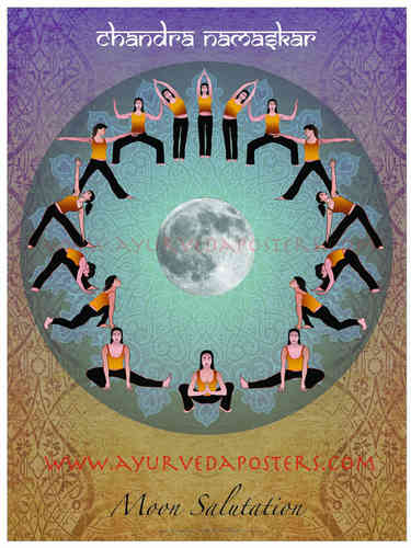 Chandra Namskar -Moon Salutation 2