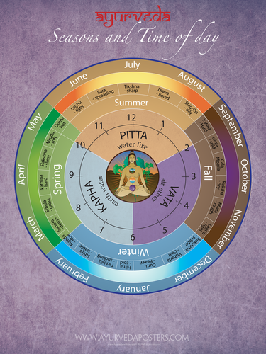 Dosha Clock and Seasons