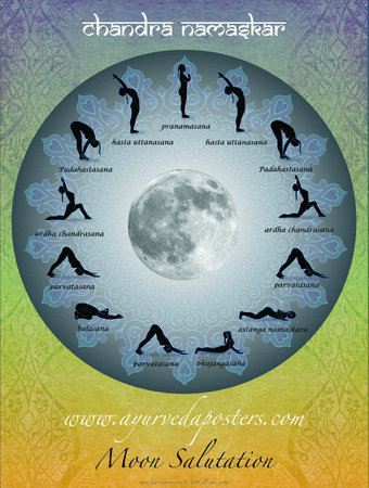 chandra namaskar, moon salutation poster.\\n\\n3/18/2015 7:58 PM