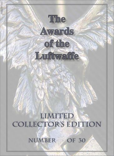 The Awards of the Luftwaffe - Limited Leather Edition
