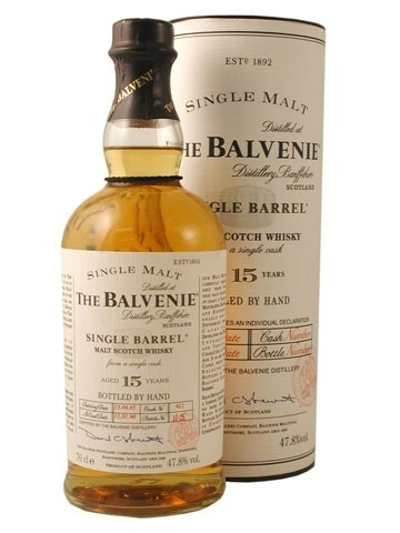 THE BALVENIE 15 YEARS 750ML
