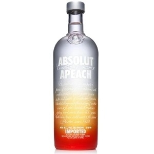 ABSOLUT PEACH VODKA 750ML