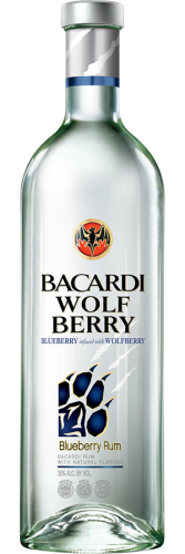 BACARDI WOLFBERRY BLUEBERRY RUM 1.75L