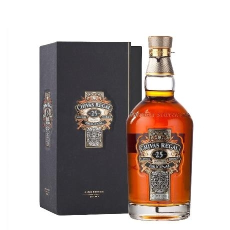 CHIVAS RIGAL 25 YEARS 750ML
