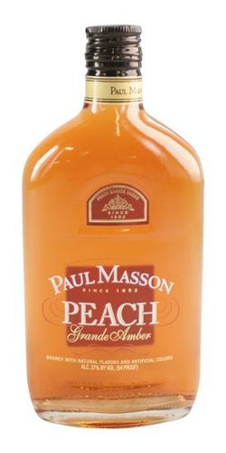 PAUL MASSON PEACH BRANDY 375ML