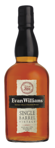 EVAN WILLIAMS SINGLE BARREL  2004 750ML