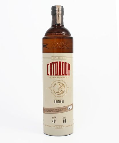 CATDADDY SPICED MOONSHINE ORIGINAL 750ML