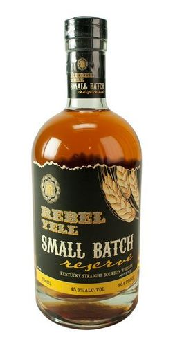 REBEL YELL SMALL PATCH 750ML