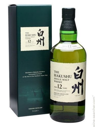 THE HAKUSHU SINGLE MALT 12 YEARS WHISKEY