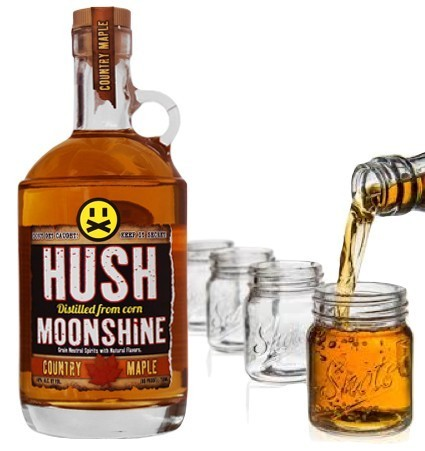 HUSH MOONSHINE SPICED APPLE