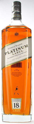 JOHNNIE WALKER PLATINUM LABEL 1.75L