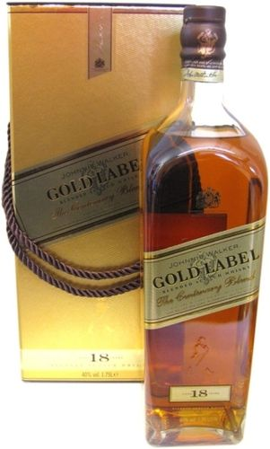 JOHNNIE WALKER GOLD LABEL 18 YEARS  1.75L