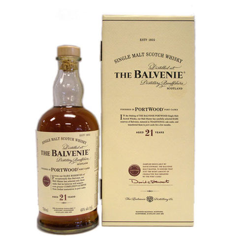 THE BALVENIE 21YR 750ML