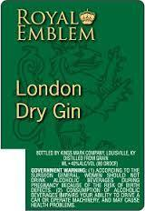 ROYAL EMBLEM DRY GIN 750ML