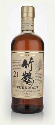 NIKKA WHISKY PURE MALT 21 YEARS OLD