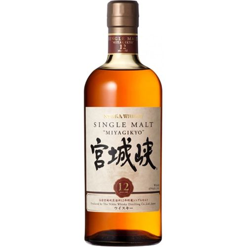 NIKKA WHISKY SINGLE MALT MIYAGIKYO 12 YRS