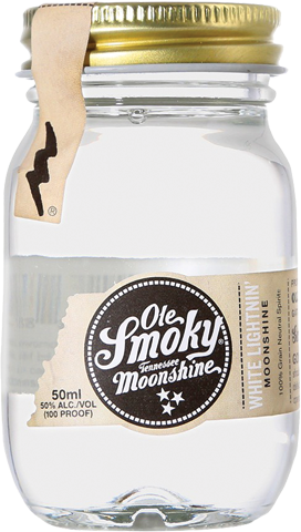 OLE SMOKY MOONSHINE WHITE 50ML
