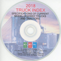 2018 Truck index CD-ROM
