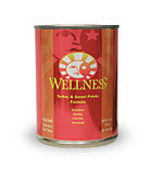 Wellness Canned Dog Food Turkey and Sweet Potato Formula 12.5 oz.