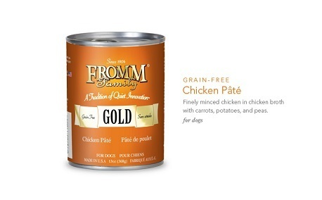 FROMM GOLD CHICKEN PATE 13OZ