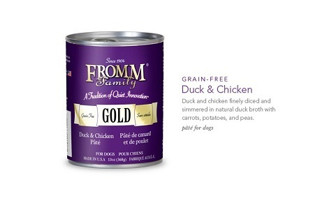 FROMM DUCK AND CHICKEN PATE 13OZ