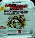 FOUR PAWS WEE WEE PADS 50PK
