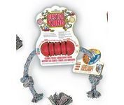 DENTAL KONG RED SMALL WITH ROPE