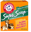 ARM & HAMMER SUPER SCOOP CAT LITTER 30LB