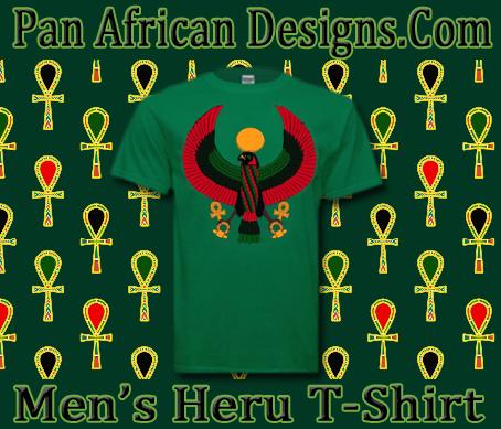 Men Heru T-Shirts - Pan African Designs 1e8c6cb97