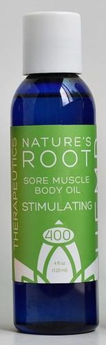 Sore Muscle Body Oil 100 Stimulating 1 oz