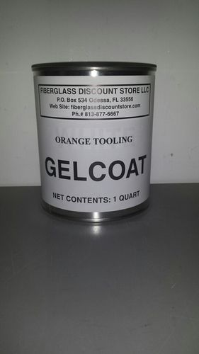 QUART ORANGE TOOLING  GEL COAT NO WAX