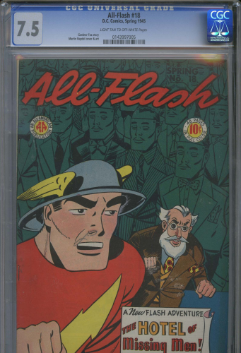 All-Flash #18 CGC 7.5