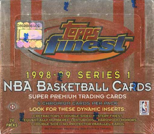 NBA 1998-99 Series One Topps Finest Wax Box (24packs)
