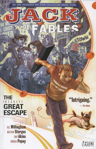 Jack Of Fables Vol. 1 The (Nearly) Great Escape TPB