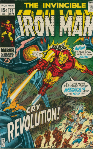Iron Man #29 (1970) F-VF