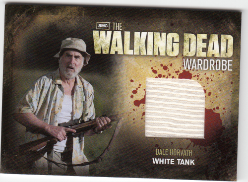 WALKING DEAD Dale Horvath wardrobe card M8
